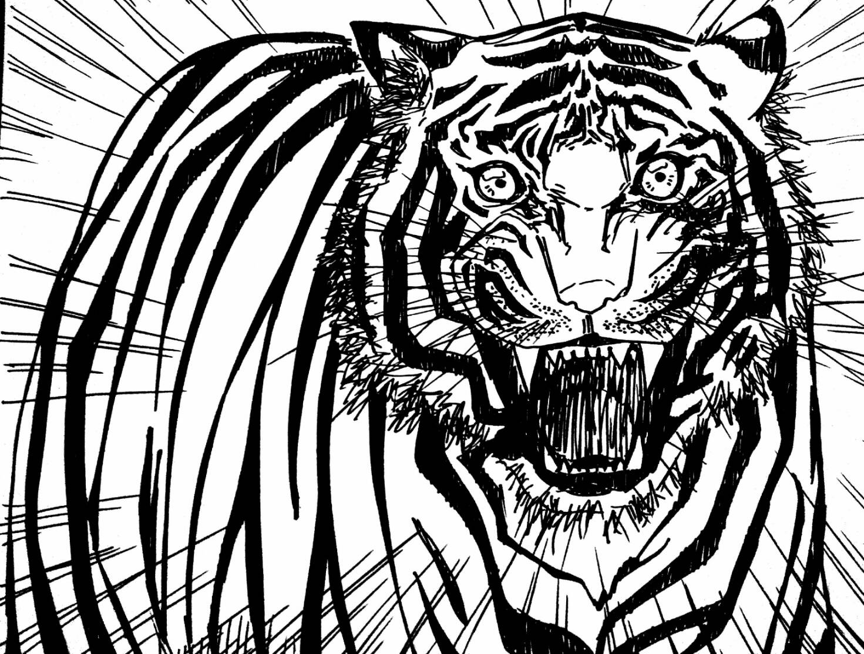 CERBUNG : Anak Harimau (2/3)