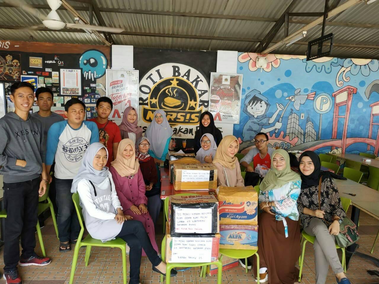 Kirim Buku Bacaan, Ringankan Beban Trauma Anak-anak di Lombok