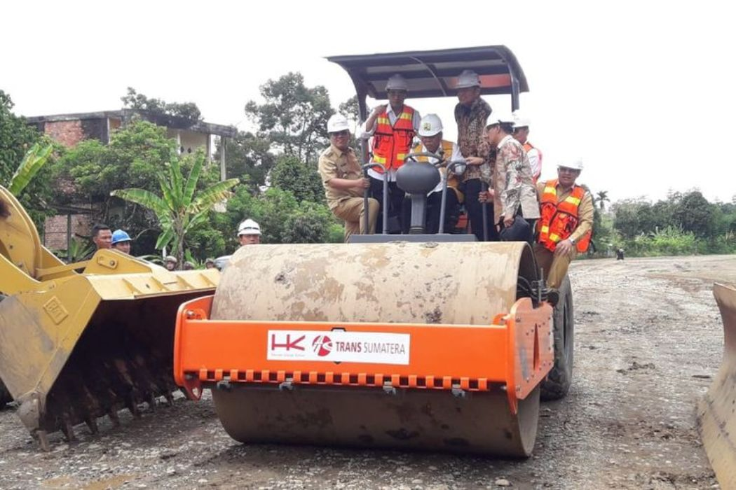 Konstruksi Jalan Tol Simpang Indralaya - Bengkulu Resmi Dimulai!