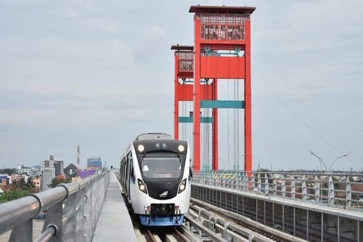 Naik LRT Palembang Gratis Lho Selama Asian Games!