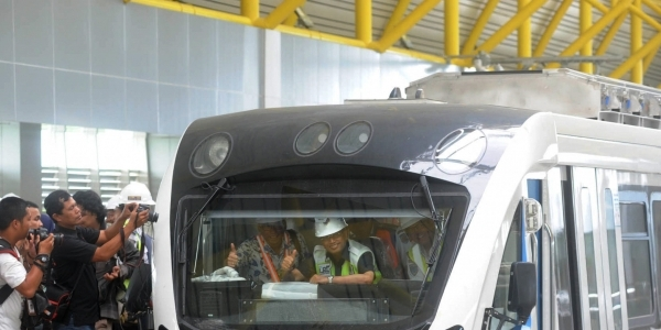 Akhirnya, LRT Palembang Berhasil Melintasi Seluruh Stasiun!