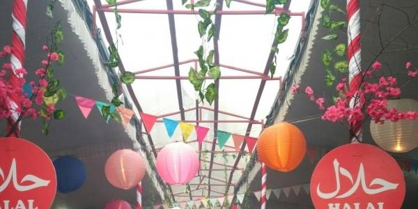 China Street Food Festival Meriahkan Imlek di Palembang Square