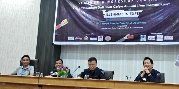 Di Era Milenial, Semua Warga Palembang Bisa Jadi Jurnalis!