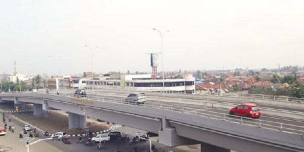 Flyover Simpang Keramasan Akan Siap Layani Pemudik Lebaran 2018