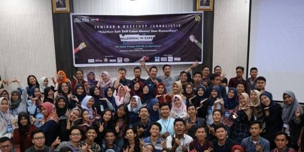 Gelar Seminar dan Workshop Jurnalistik, NGP Palembang  Hadirkan Pembicara Jurnalis Net CJ Langsung