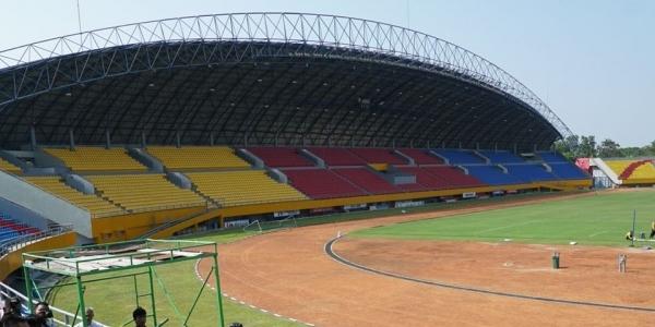 Jelang Asian Games, Kodam II/Sriwijaya Gotong-rotong Perbaiki Kerusakan Stadion Gelora Sriwijaya