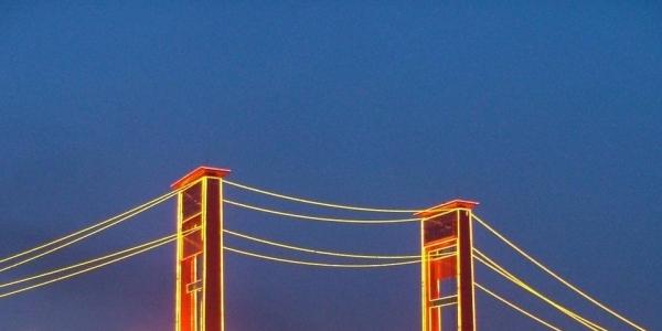 Jembatan Ampera, Salah Satu Ikon Kota Terpopuler di Indonesia