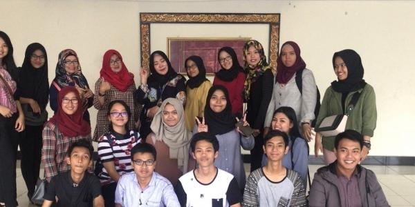 Kunjungan Mahasiswa Unsri Ke Radio Berjasa Pertama Di Indonesia