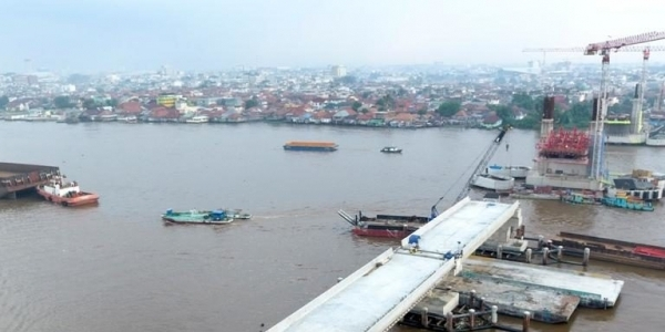 November Mendatang, Warga Palembang Sudah Bisa Gunakan Jembatan Musi IV!