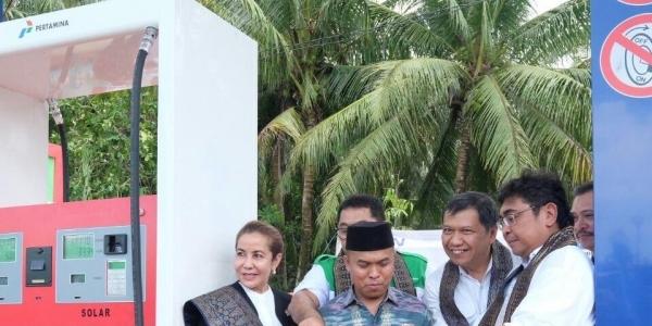 Perdana, Sumsel Kini Punya SPBU Kompak di Muba