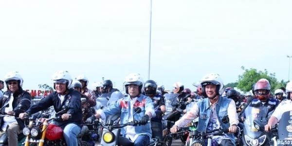 Rangkul Komunitas Biker, Kemenhub Ingin Semua Budayakan Safety Riding
