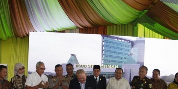 Resmi, RSUD Sumsel Diganti Nama Menjadi RSUD Siti Fatimah
