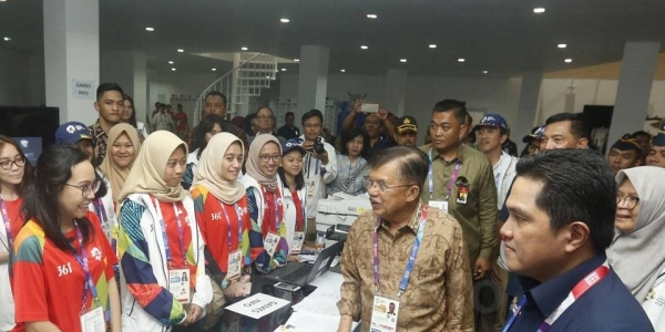 Siap Diliput 10.000 Wartawan, Pemerintah Resmikan International Broadcast Center untuk Asian Games