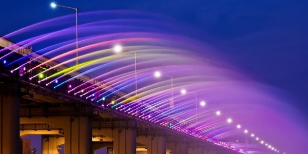 Spektakuler! Air Terjun Buatan Ala Banpo Bridge Siap Percantik Ampera!