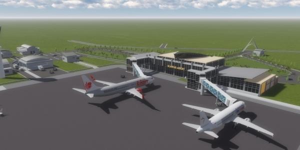 Terminal Baru Bandara Silampari Lubuk Linggau Siap  Beroperasi Desember Mendatang!