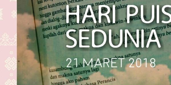 Wow!!!, Ternyata Palembang Pernah Menjadi Penyelenggara Festival Puisi Internasional