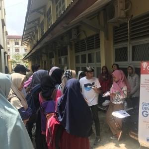 AIESEC Mengajak Mahasiswa UIN Raden Fatah Palembang Untuk Menjadi Sukarelawan Dunia