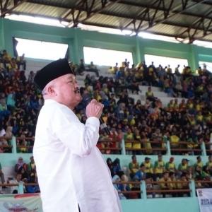 Hebat! Ribuan Warga Hadiri Sosialisasi Asian Games 2018 di Gor Megang Lubuk Linggau