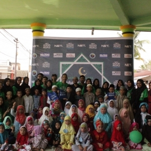 Kemasan Charity Berbeda Ala Net Good People Palembang