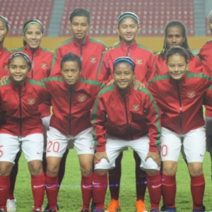 Laga Perdana, Tim Sepakbola Putri Indonesia Hujani Gawang Maladewa dengan Gol