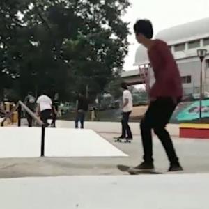 Resmi! Palembang Akhirnya Punya Skate Park Sendiri