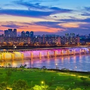 Usai Resmikan Tugu Belido, Palembang Siap-Siap Akan Hadirkan Keindahan Banpo Bridge Korea Selatan!