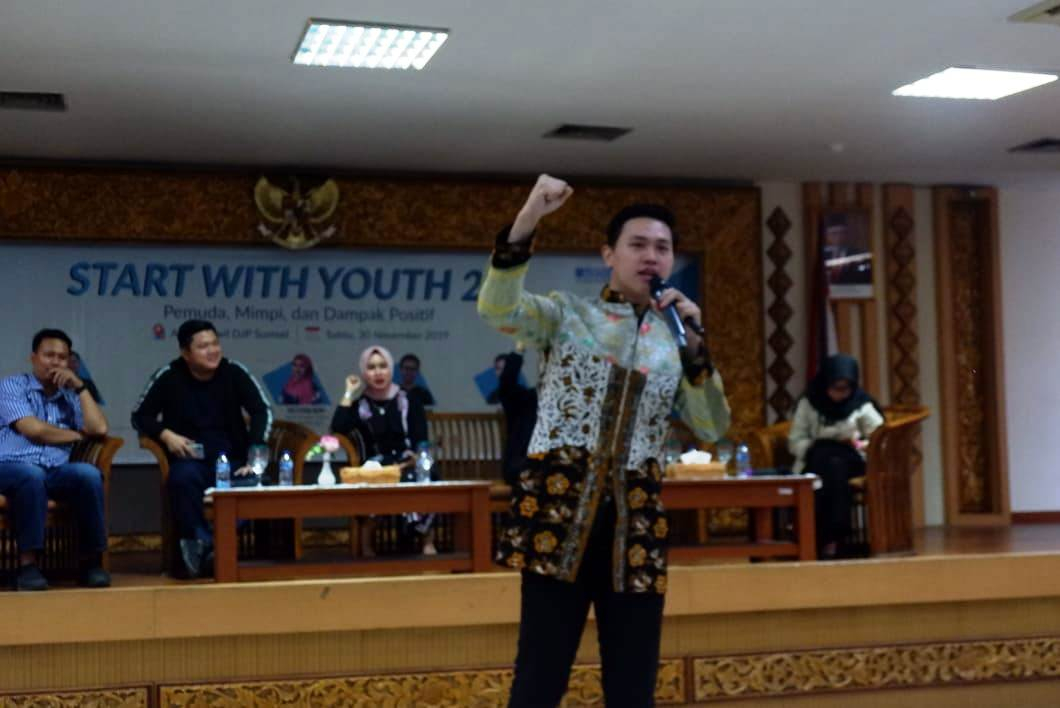 Start With Youth 2.0 AIESEC in UNSRI, Pemuda, Mimpi dan Dampak Positif