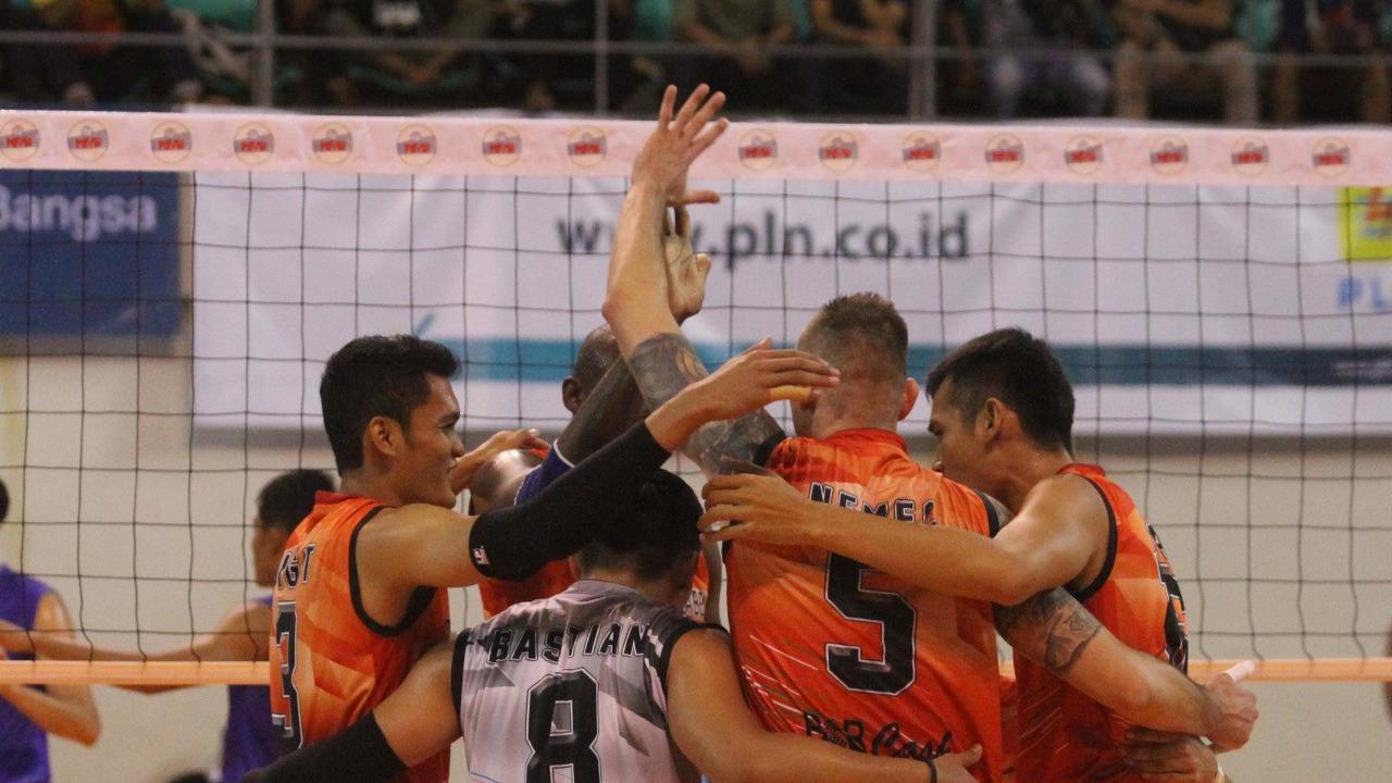 Tim Voli Putera Palembang Berhasil Menang di Putaran Pertama Proliga 2018